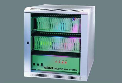 ws824电话交换机接线图